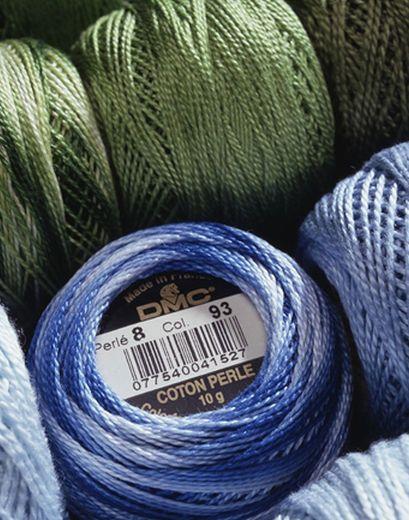 Anchor Crochet Cotton Embroidery Thread Balls *Size no.8-10 White Solid Balls