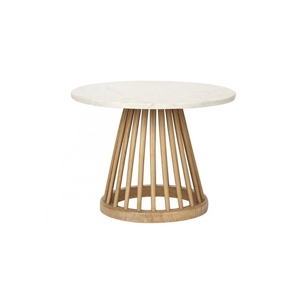 Tom Dixon Couchtisch Tom Dixon Fan Base Side Table Natural Oak Tables White Dining