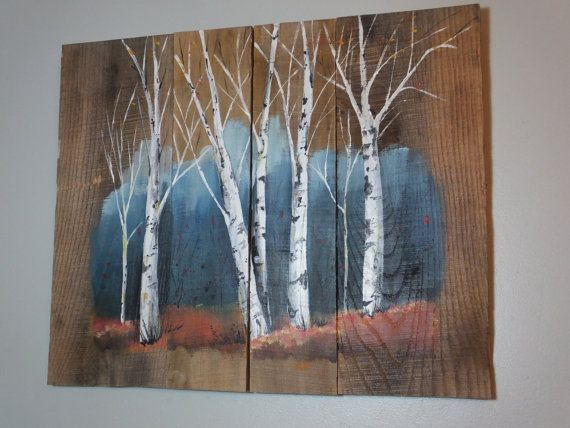 Add A Rustic Touch To Your Home Decor With This Birch