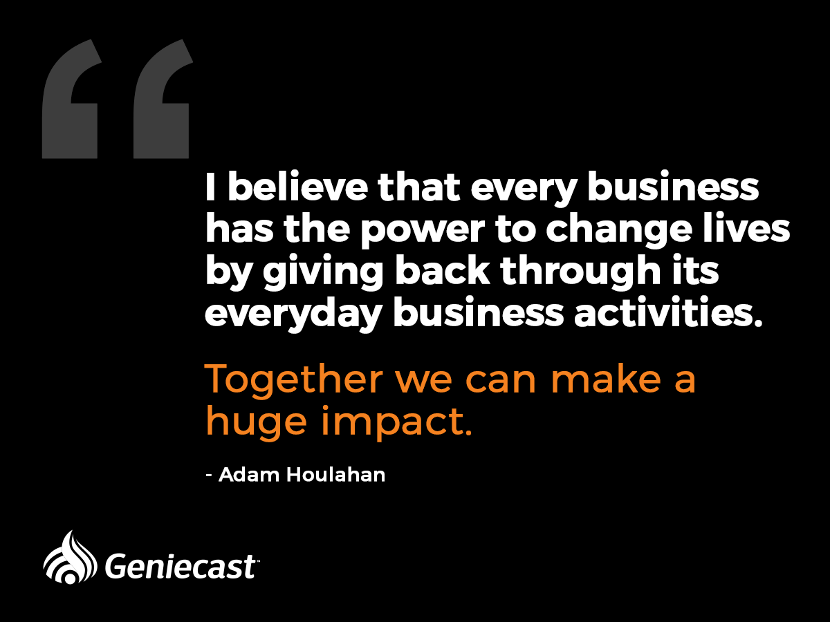 Every Business Has The Power To Change Lives By Giving