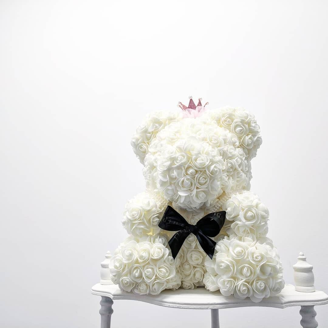 Wedding Flowers Vancouver Bc: Original Millionaire Rose Bear
