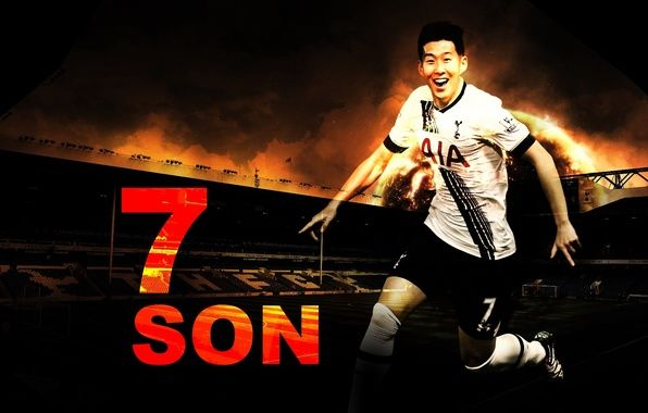 Photo Wallpaper Tottenham Wallpaper, Son, Football