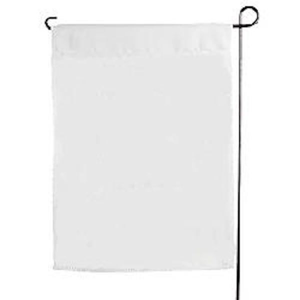 10 Sublimation Blank Polyester Garden Flags 11 X 15 Inches White Plain Sublimation Blanks Sublime Wholesale Craft Supplies
