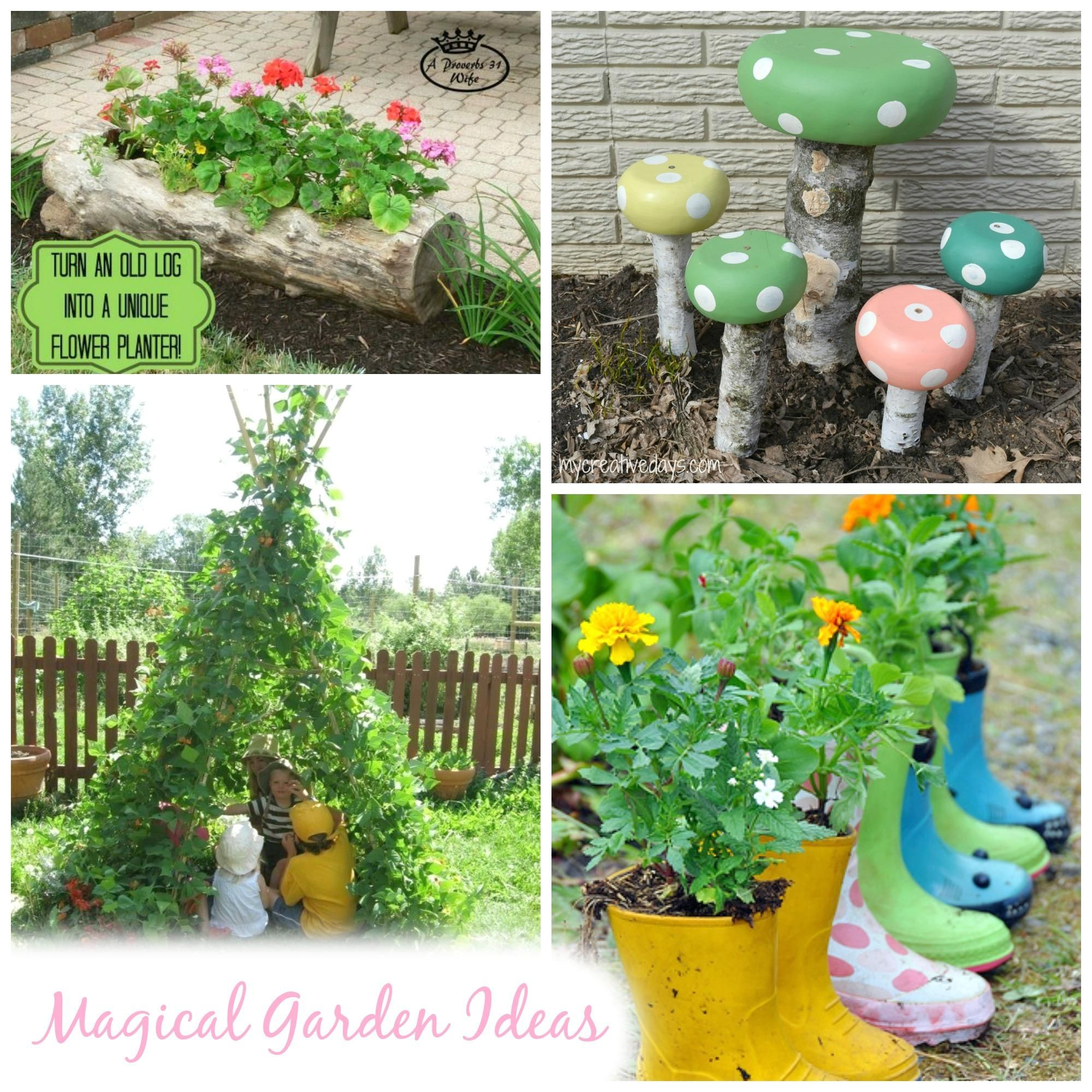 Garden Ideas for Summer. Magical | Kids gardening | Pinterest ...
