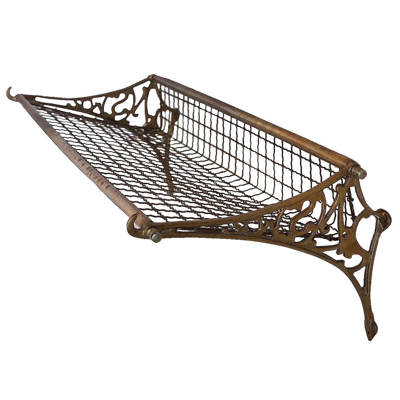Antique Railroad Luggage Rack | Artifacts | Pinterest | Luggage ...