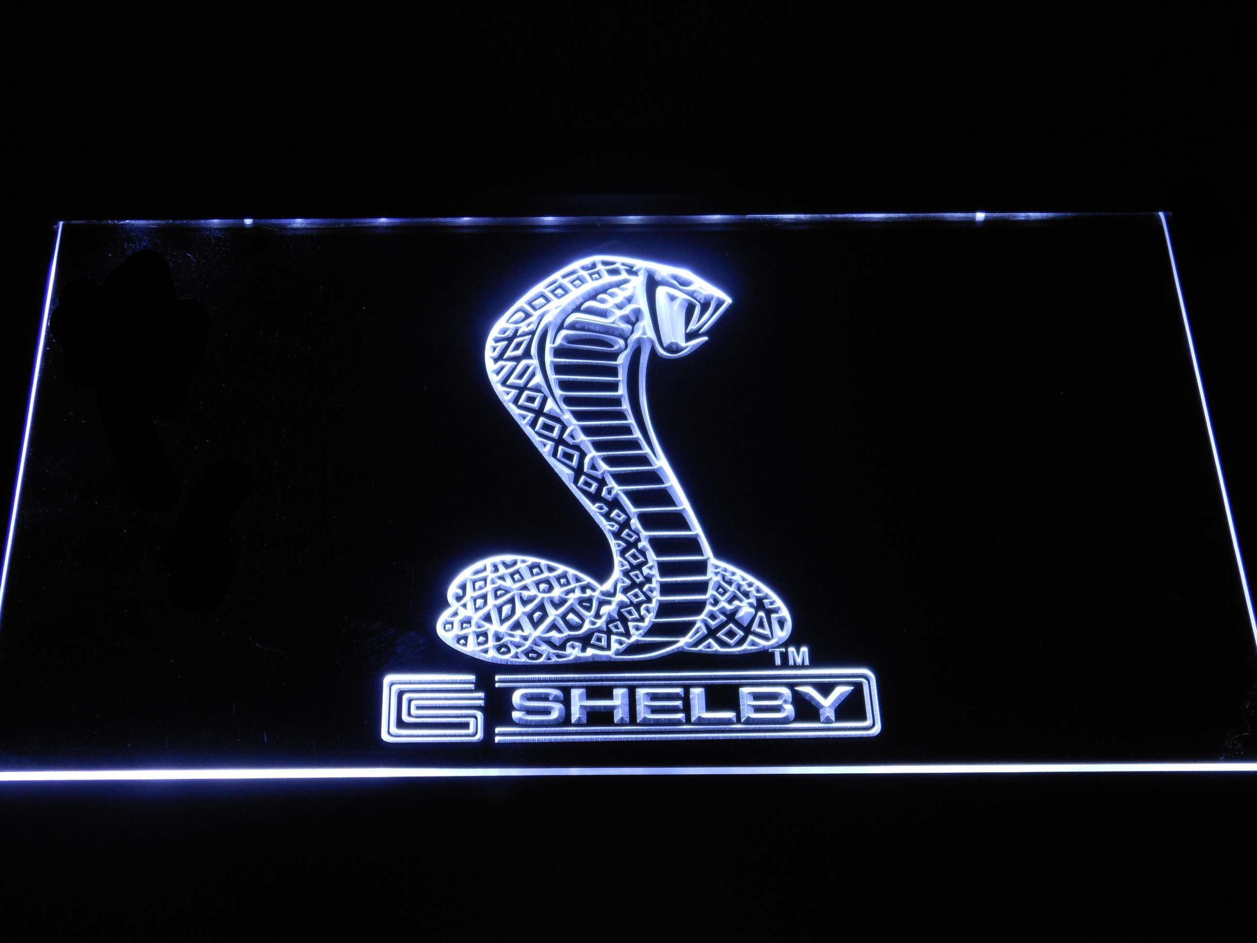 Ford Shelby Led Neon Sign In 2020 Led Neon Signs Cool Bedroom