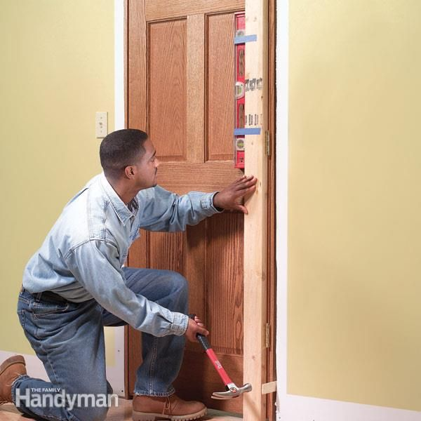 How To Replace An Interior Door Prehung Door Replacement Prehung Doors Replacing Interior Doors Prehung Interior Doors