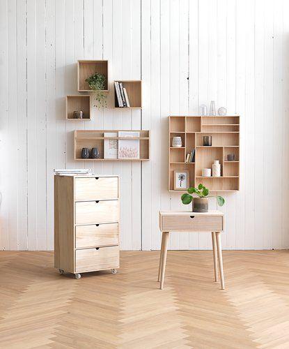Wall Shelves Ilbro 3 Pack Natural Vegghylle Hylle Ideer Og Interior