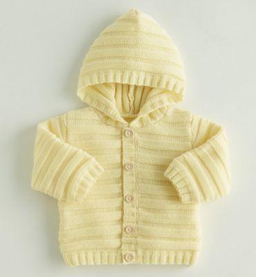 comment tricoter une capuche sur un gilet