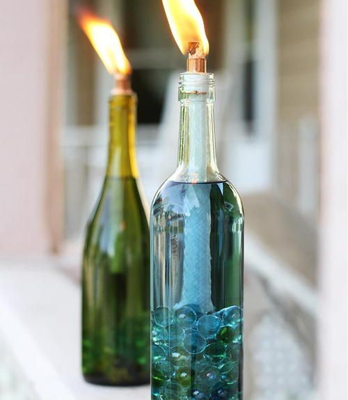 Wine bottle diy citronella candles solutioingenieria Images