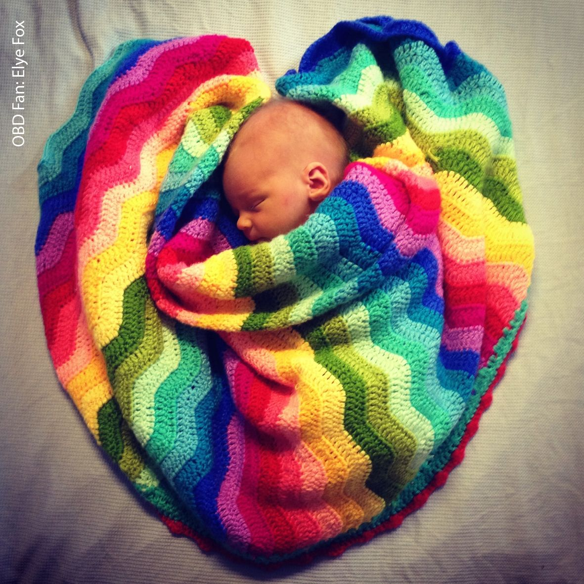 O.B.Designs Rainbow Blanket - hardtofind. @Amy Lyons | Craft Ideas ...