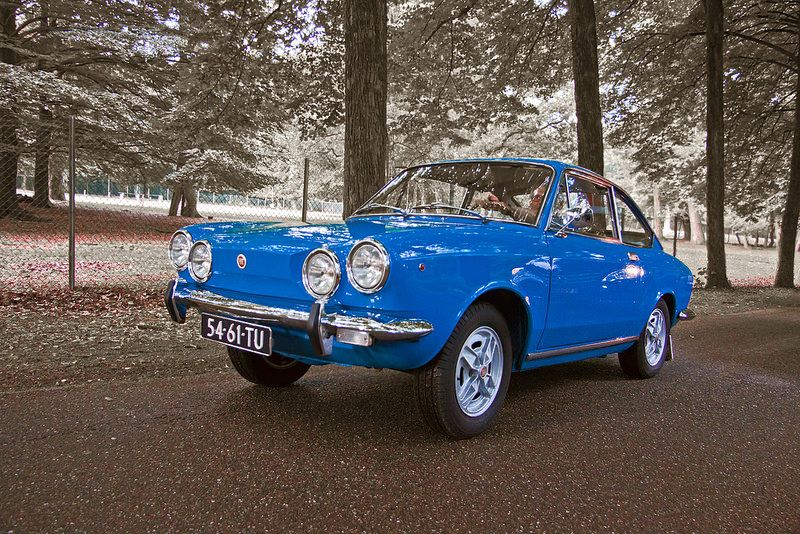 FIAT 850 Sport Coupé 1972 (3247) | by Le Photiste
