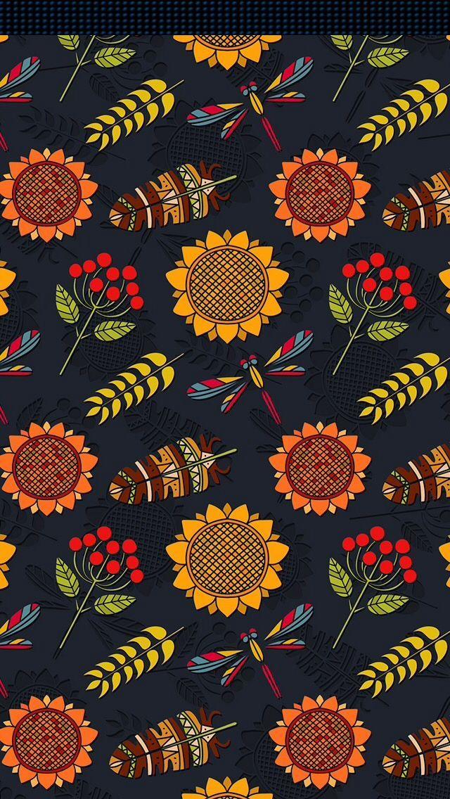 iPhone Wall Thanksgiving tjn Sunflower wallpaper