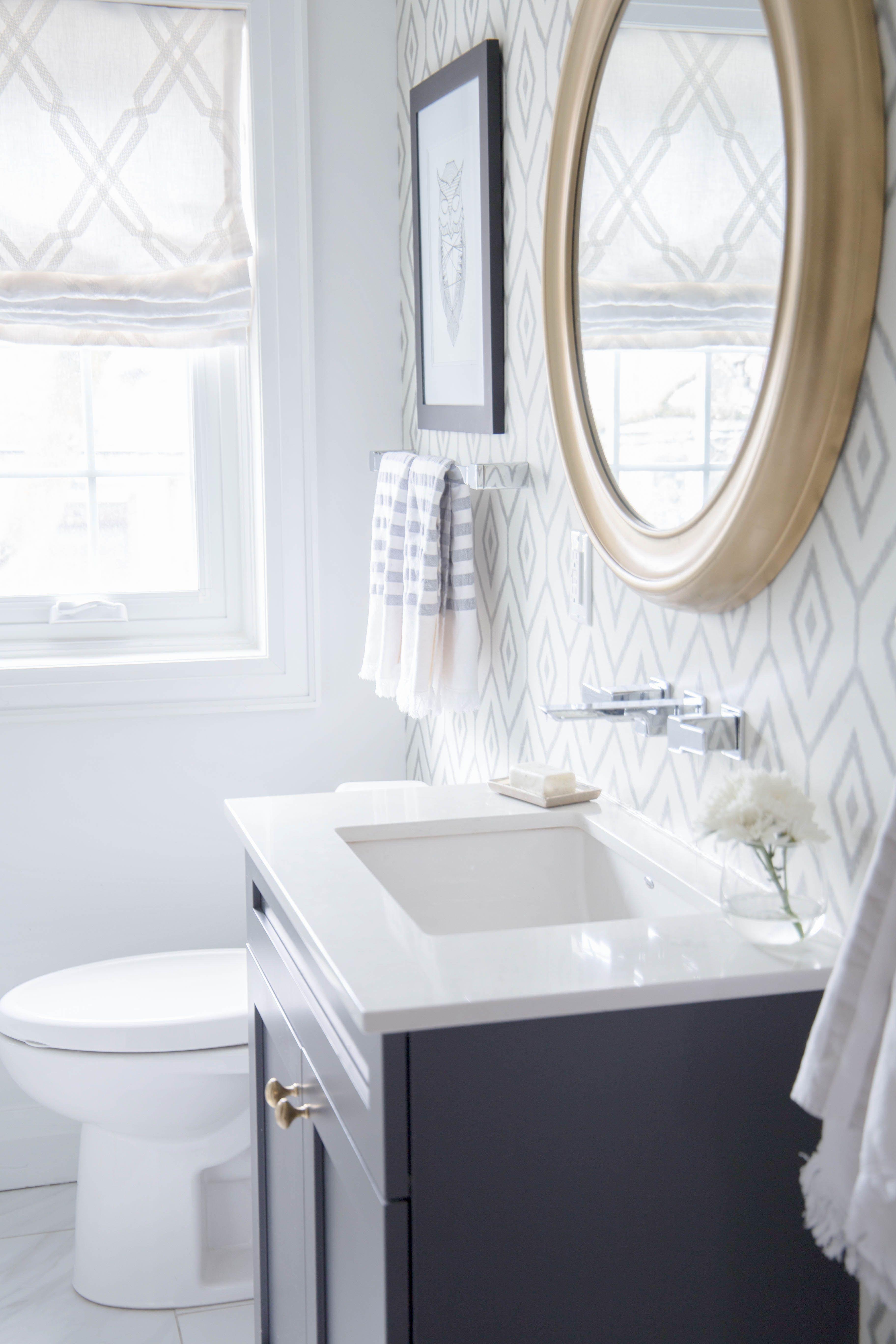 Property Brothers Bathroom Reveal By Karin Bennett Designs Bathroom Brightwhite Clea Bathroom Design Luxury Bathroom Designs India Ensuite Bathroom Designs