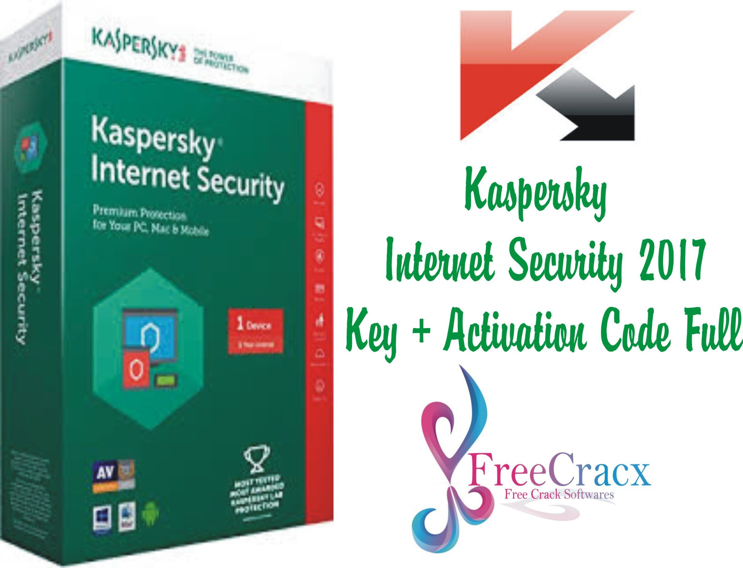 Kaspersky Internet Security 2017 Key Activation Code Full