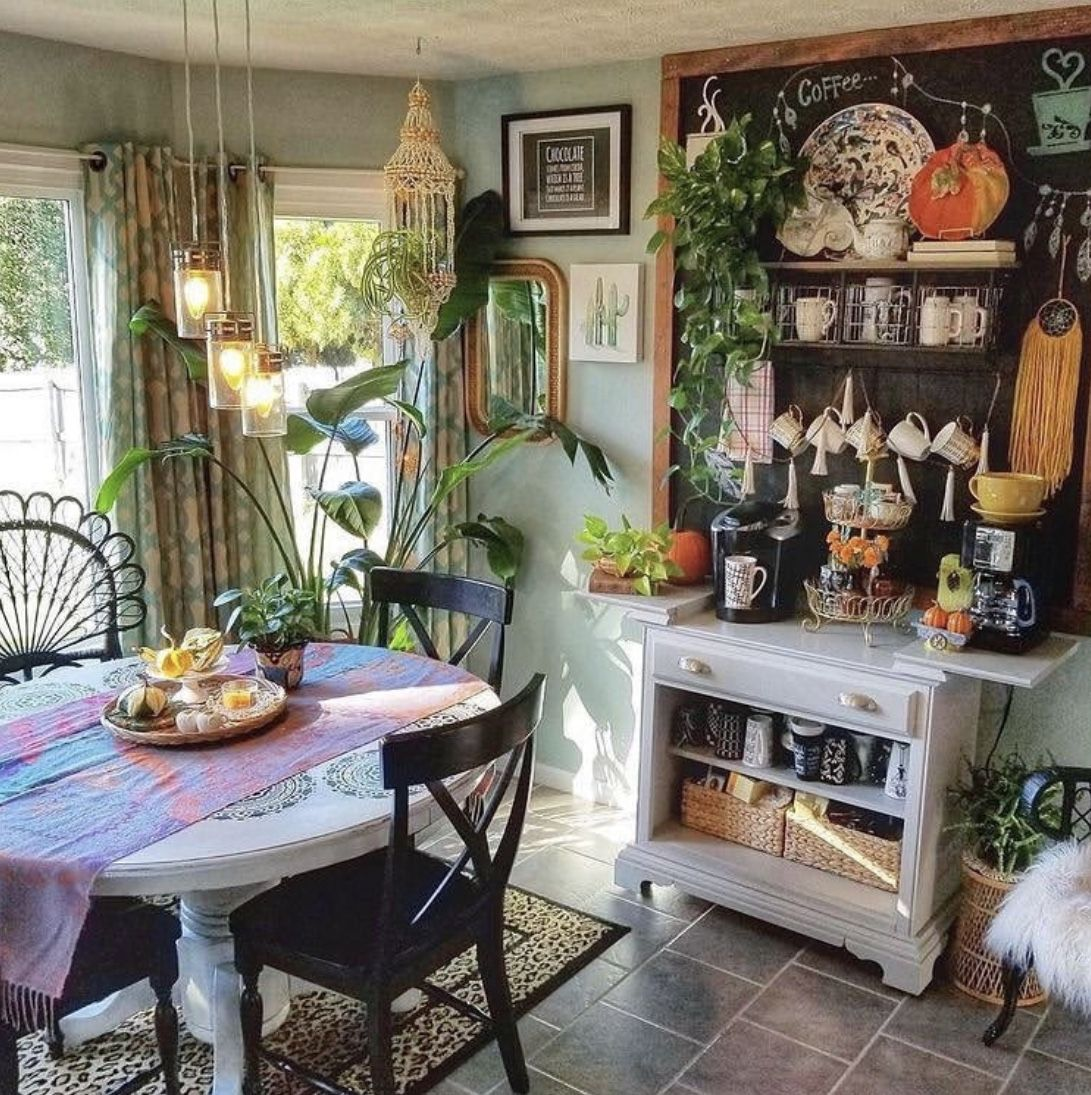 idea by aeryn sun on bohemia dreamia bohemian kitchen home decor decor on hippie kitchen ideas boho chic id=45514