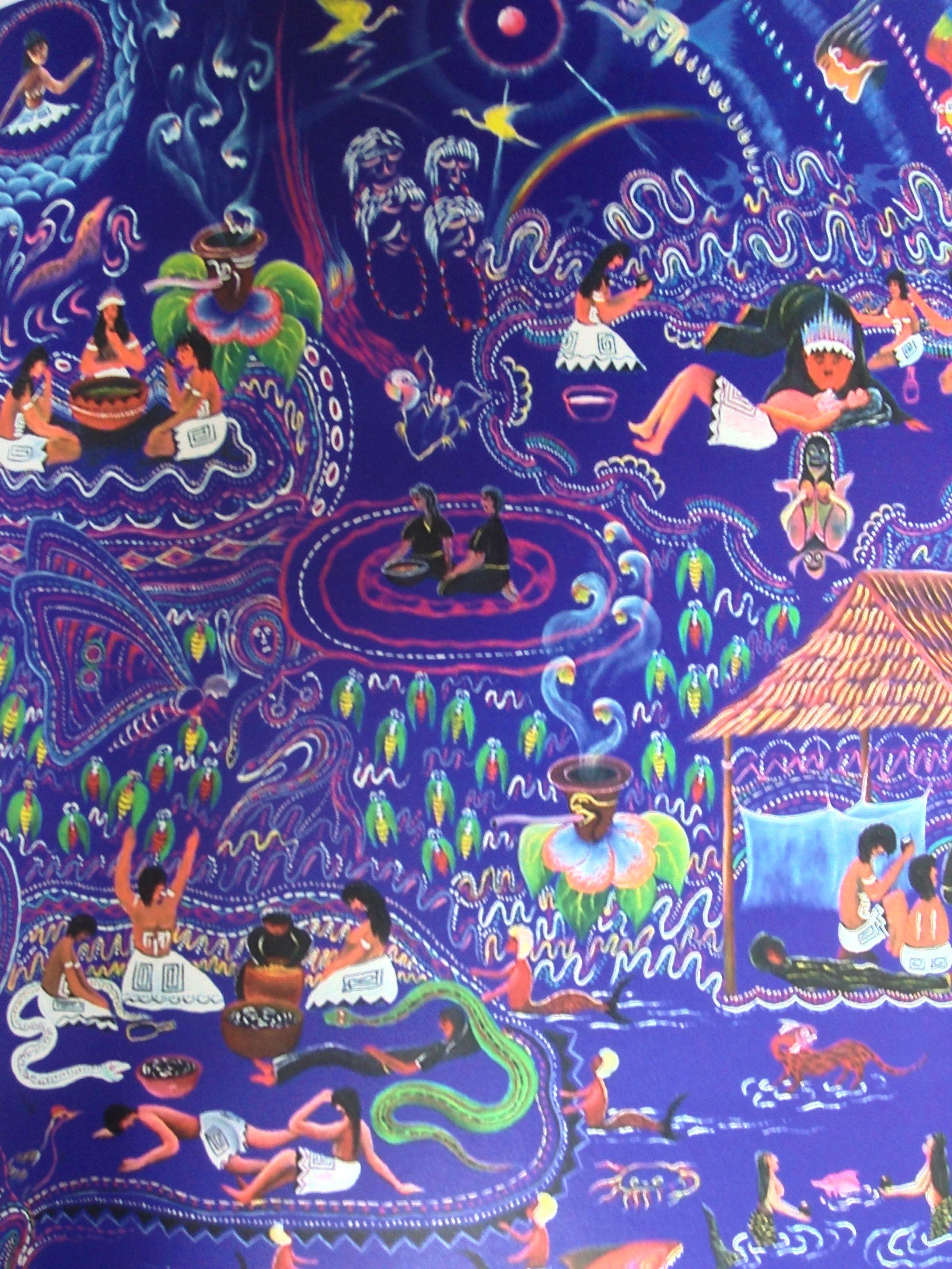 Ayawaska Visions | Psychedelic art, Art