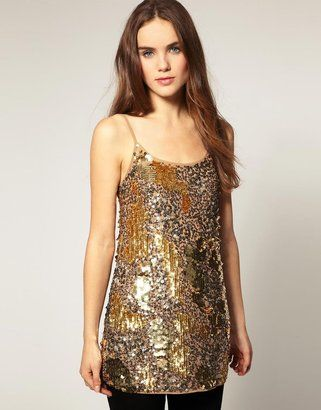 River Island Sequin Cami Dress - Was £ 65 now £32.50