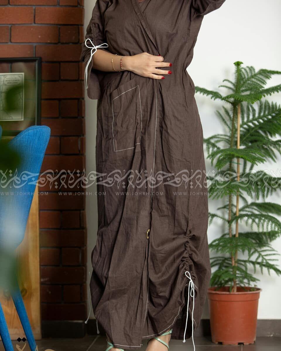 عباية لينين بني و بكم مفتوح وتطريز يحدد أطراف العباية رقم الموديل 1511 السعر بعد الخصم 280 ريال متجر جوهرة عباية عبايات ستا Fashion Maxi Dress Dresses