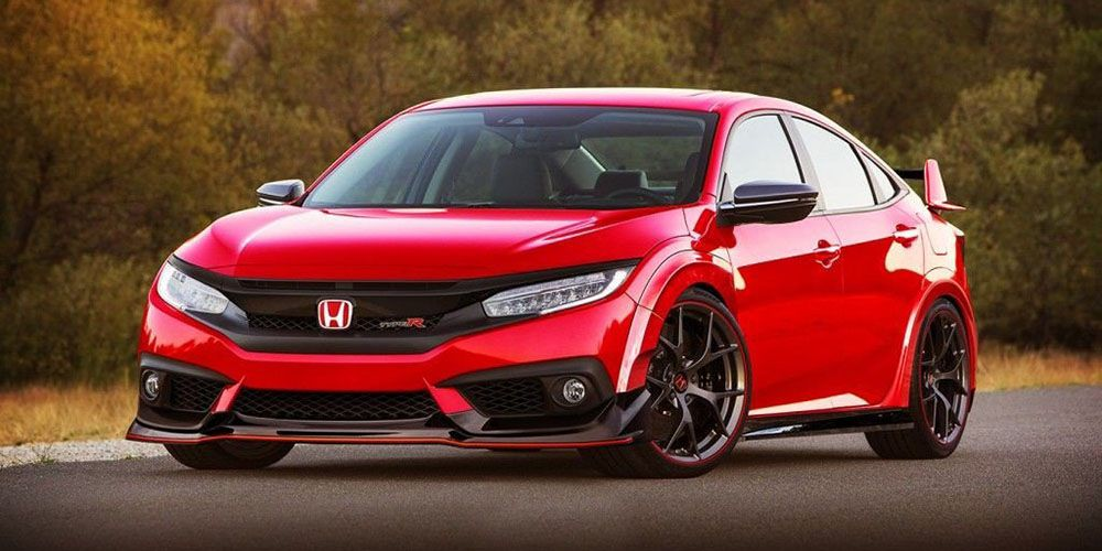 2018 Honda Civic Type R Specs Images Price Avtomobil Tachka Sport