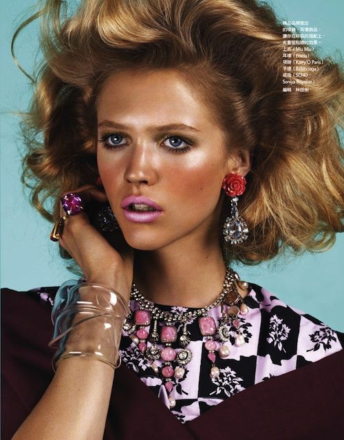 Chic and Loud from Vogue Taiwan   RDuJour
