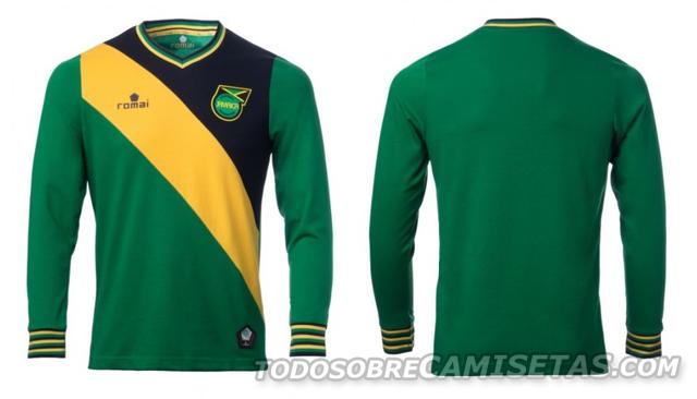 406493b48366f Hace unos meses la Selección de Jamaica presentó sus nuevos uniformes de la  mano de Romai Sportswear