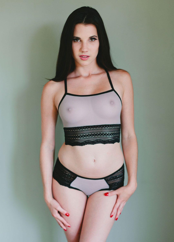 Popular items for mesh bra on Etsy | Lingerie | Pinterest ...