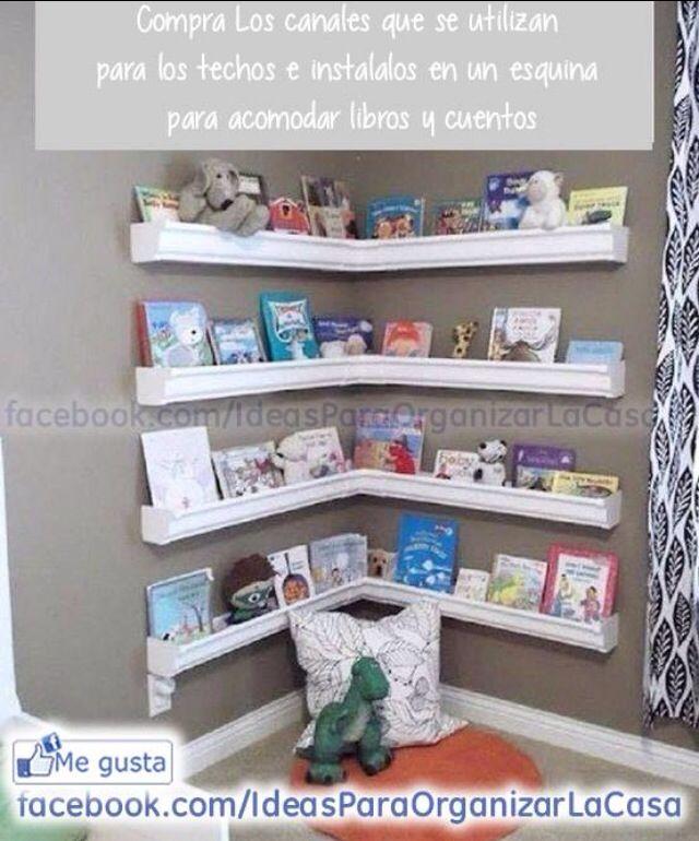 Idea de organizador de libros