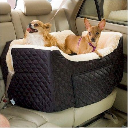 Double Dog Car Seat