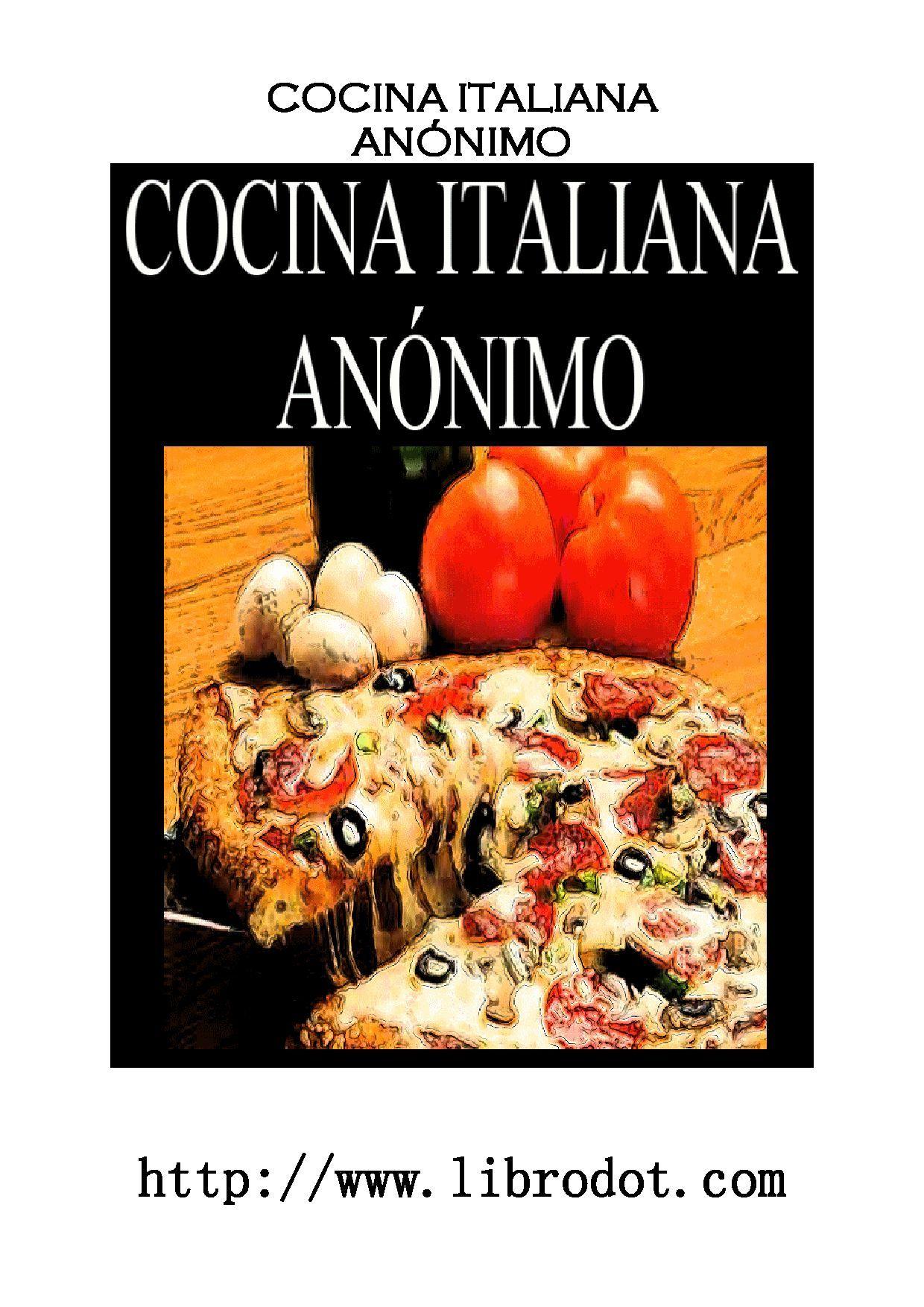 Recetas de cocina italiana am am pinterest cocina for Ensaladas francesas famosas