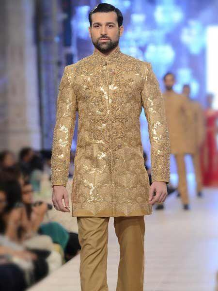 Pakistani Short Sherwani Designs 2019 New Styles | Indian formal dresses, Groom wedding dress ...