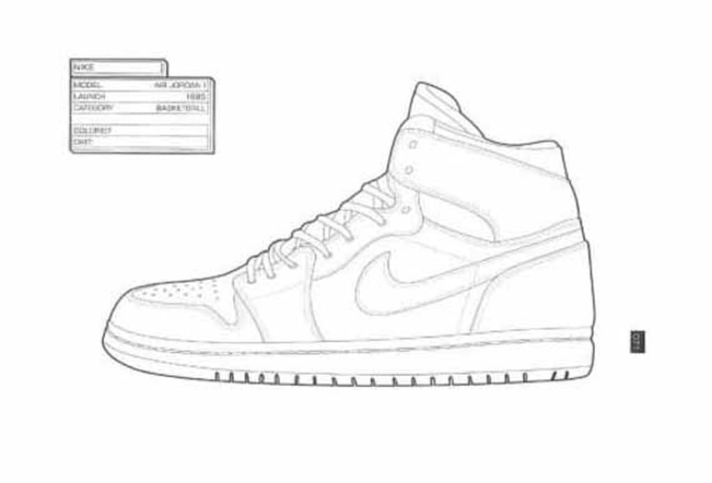 The Sneaker Coloring Book Sneakers Sneaker Art Shoe Sketches