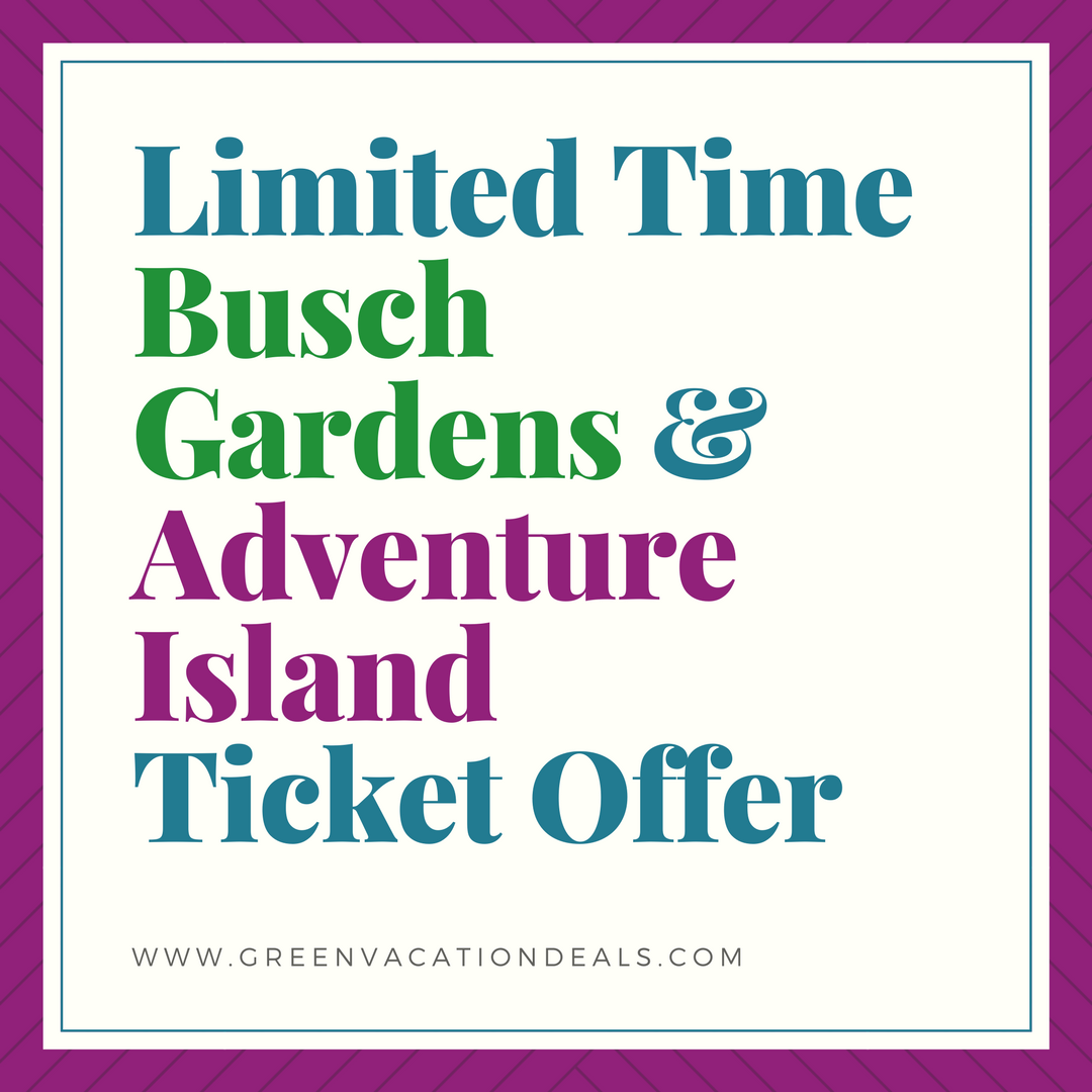 Looking For Busch Gardens Tampa Discount Tickets? Find Out How You Can Get Busch  Gardens