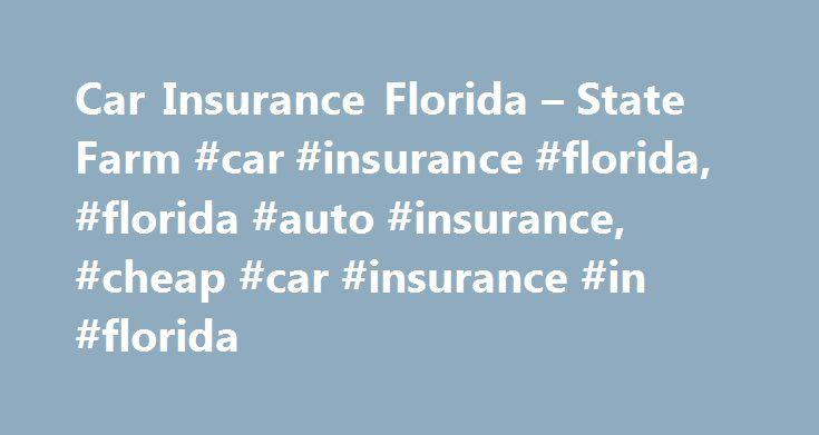 State Farm Quote Car Prepossessing Car Insurance Florida  State Farm Car Insurance Florida