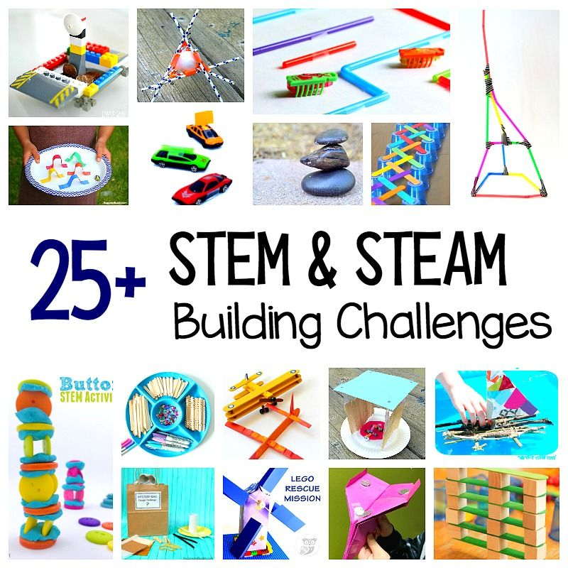 25+ STEM Challenges For Kids: Child-Centered Projects