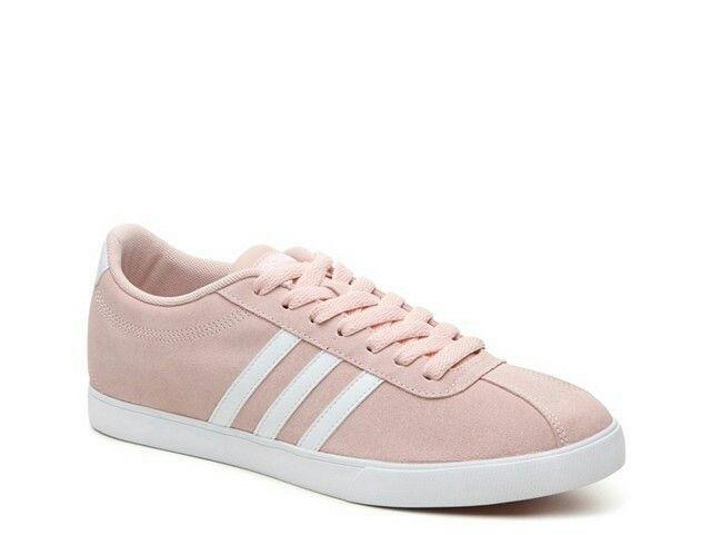 Adidas neo courtset Blush tamaño 8 DSW zapatos Pinterest adidas