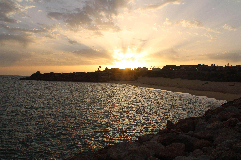 playa de la muralla en El Puerto de Santa María