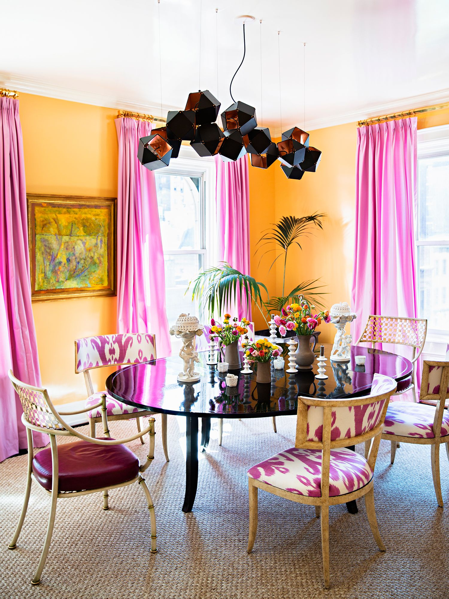 Use Bright Colors In North Facing Rooms Which Tend To Be Darker And Create Colorful Dining RoomsDining Room