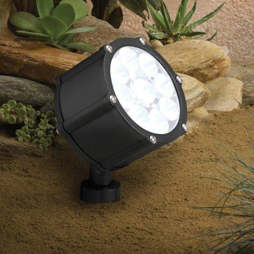 Kichler Landscape LED 15751 Landscape 12V LED Accent - 3.57 in. Color-Size - 2.78L x 3.57W x 4.21H in. - Textured Black by Kichler. $202.00. Overall dimensions: 2.78L x 3.57W x 4.21H inches. Includes 8-inch in-ground mounting stake. Aluminum construction in a variety of finishes. Transitional style suits any space. Accommodates (9) 9W LED bulbs (included). The Kichler Landscape LED 15751 Landscape 12V LED Accent - 3.57 in. makes a great addition to your outdoor sp...