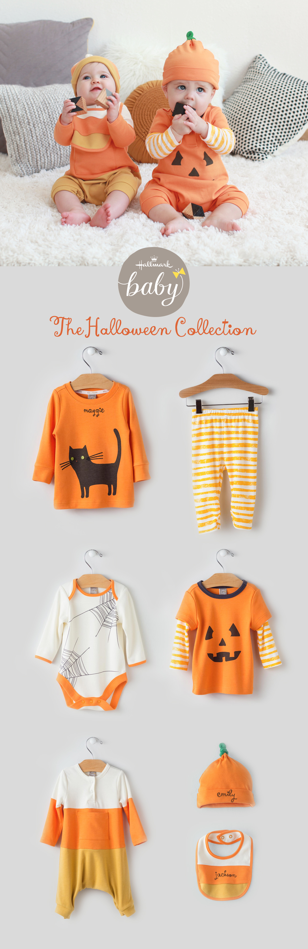 We've got so many sweet treats for Halloween littles this year with lots you can personalize ...
