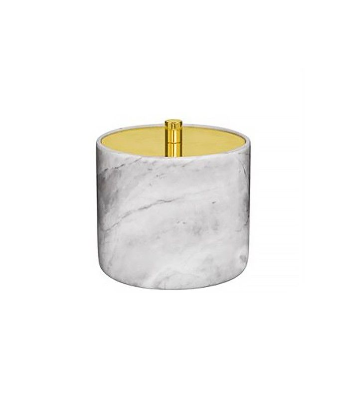 Bloomingville Storage Jar   Glam Gold Accents That Look Expensive (but Aren't) via @MyDomaine