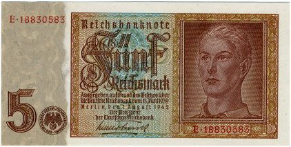 altes geld reichsmark