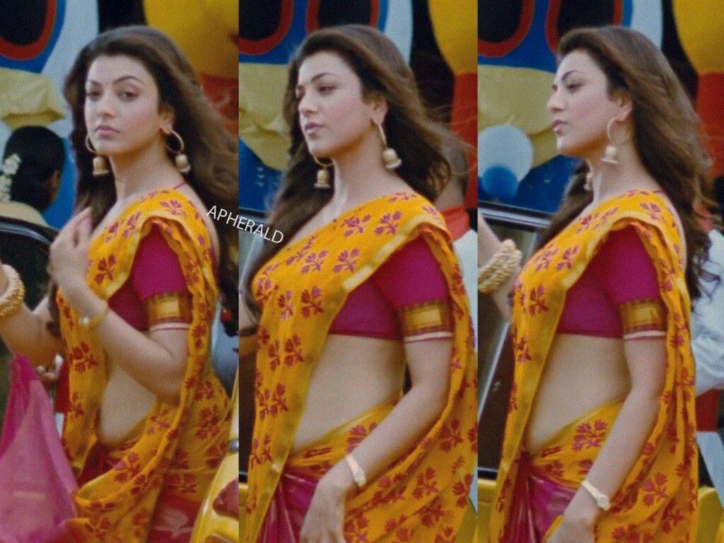 Kajal Aggarwal Beauty  In 2019  Kajal Agarwal Saree -3527