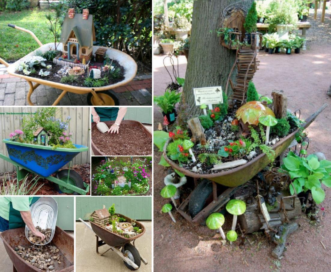 Fairy Door Clay Pot Planter Is An Easy DIY | Fairy, Gardens and ...