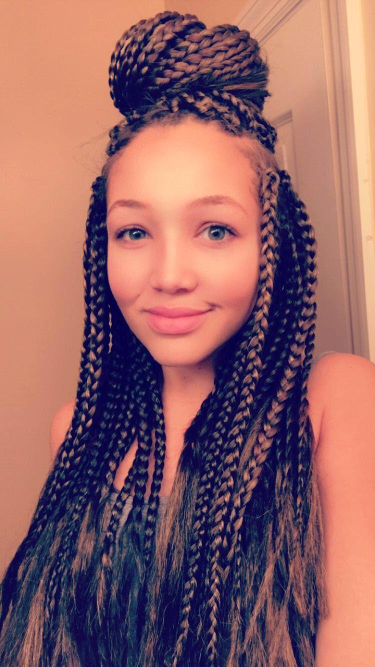 Pin by Kaliyah Weldin on Mixed Girl Braids   Girls braids ...