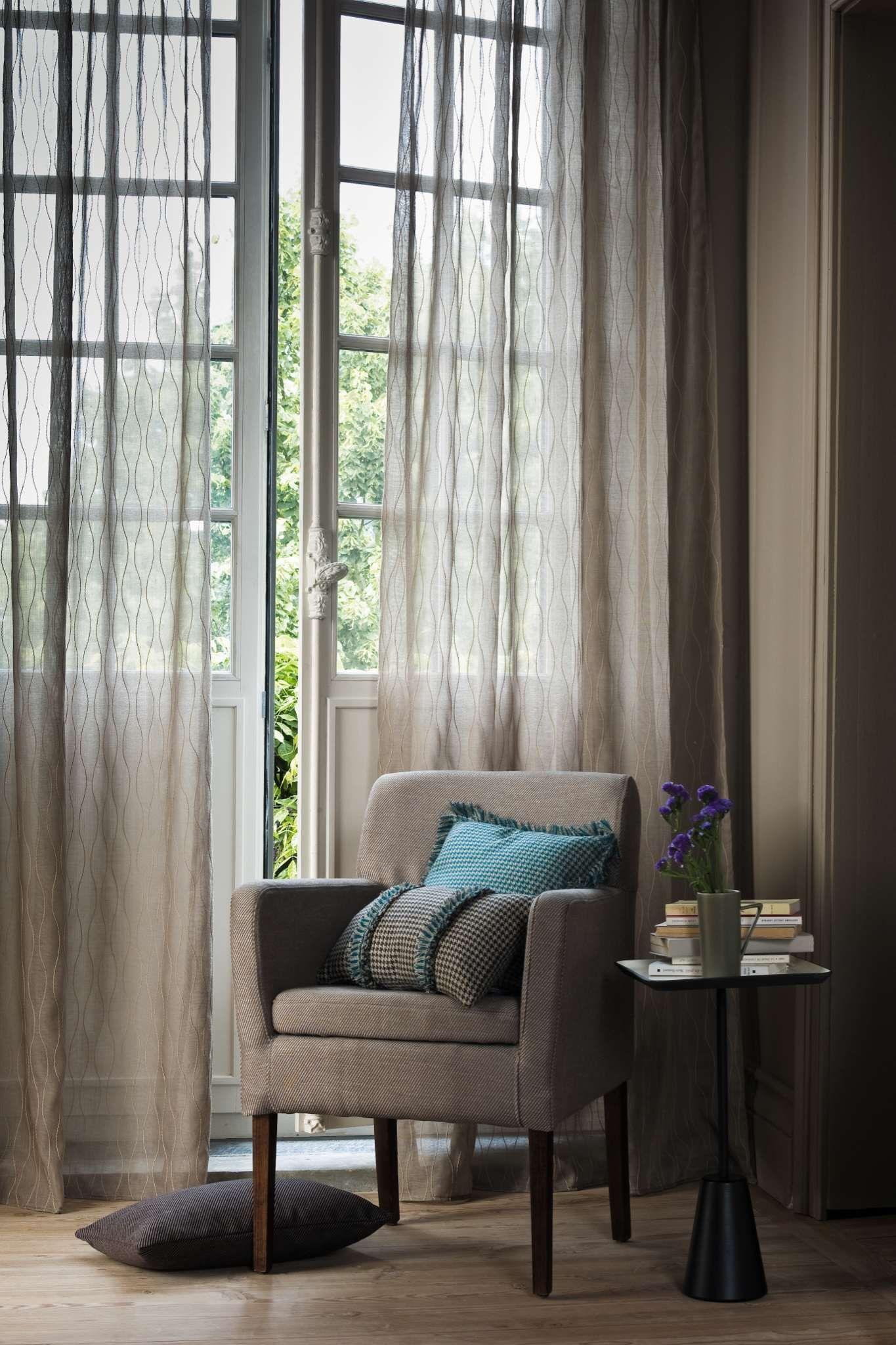 Vitrage en inbetween gordijnen op maat | Huis | Pinterest | Window