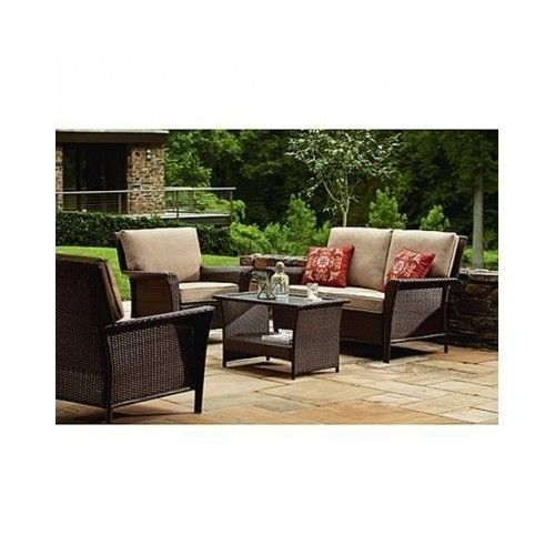 Furniture 4 Piece Patio Ty Pennington Style Parkside Deep