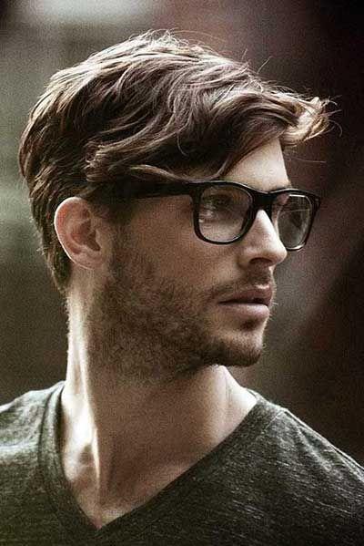 Jungs frisuren mit brille