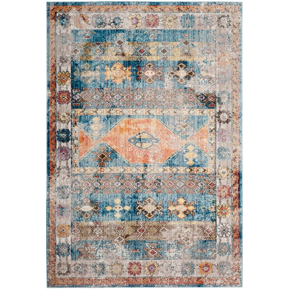 Safavieh Bristol Blue Gray 9 Ft X 12 Ft Area Rug Products