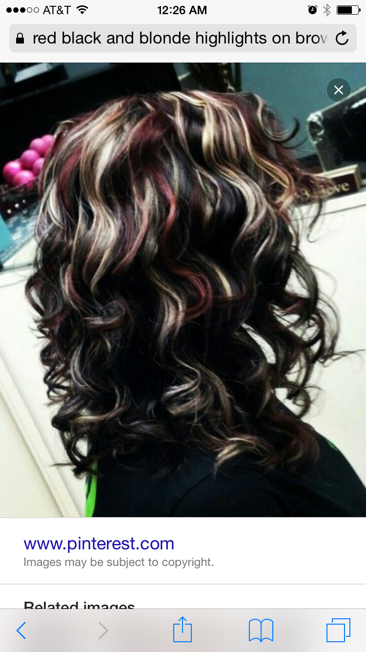 Layered Strawberry Blonde Hair With Highlights Red